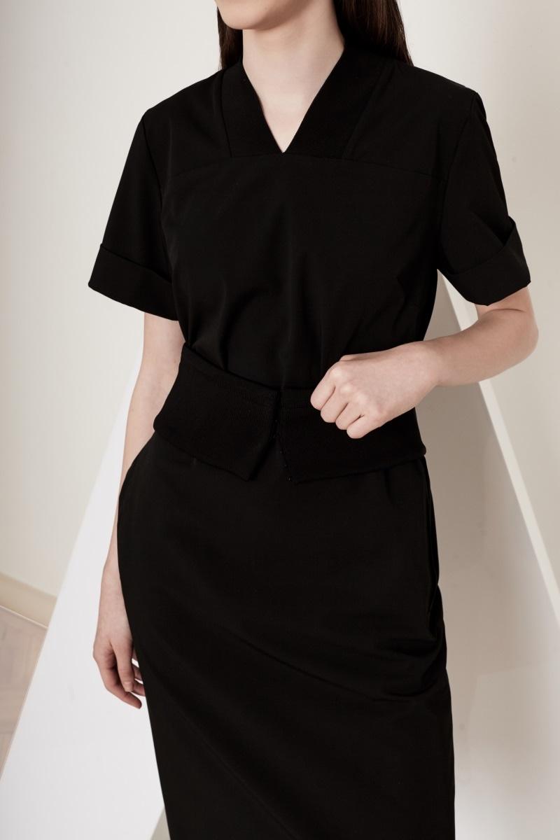 Short Poem black dress