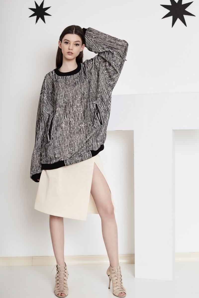 Galaxy oversize sweatshirt