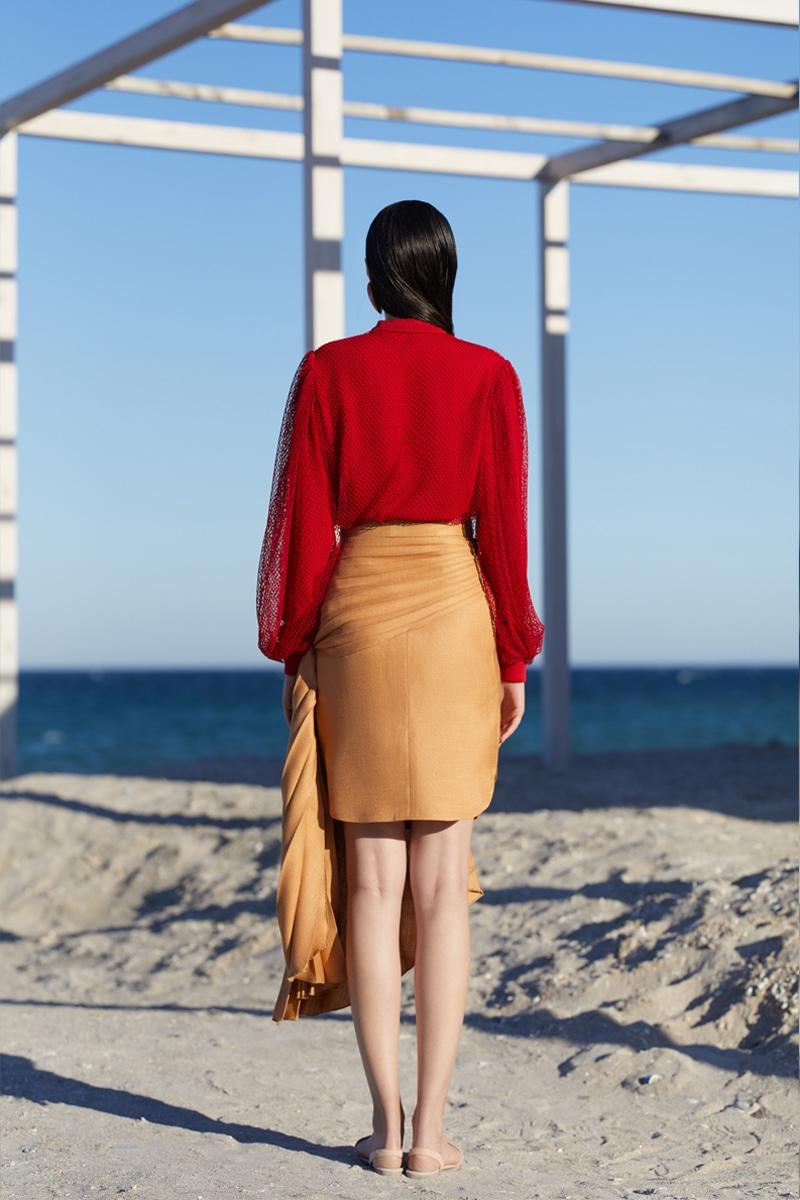 Golden Aquarius skirt