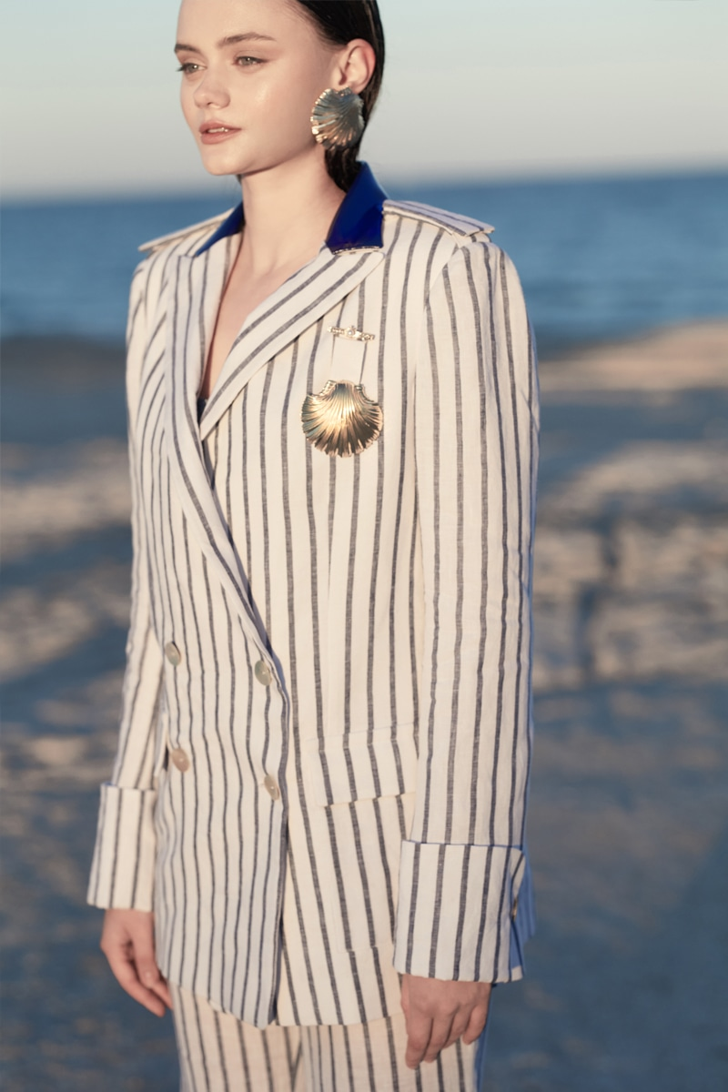 Sailor Stripe  blazer