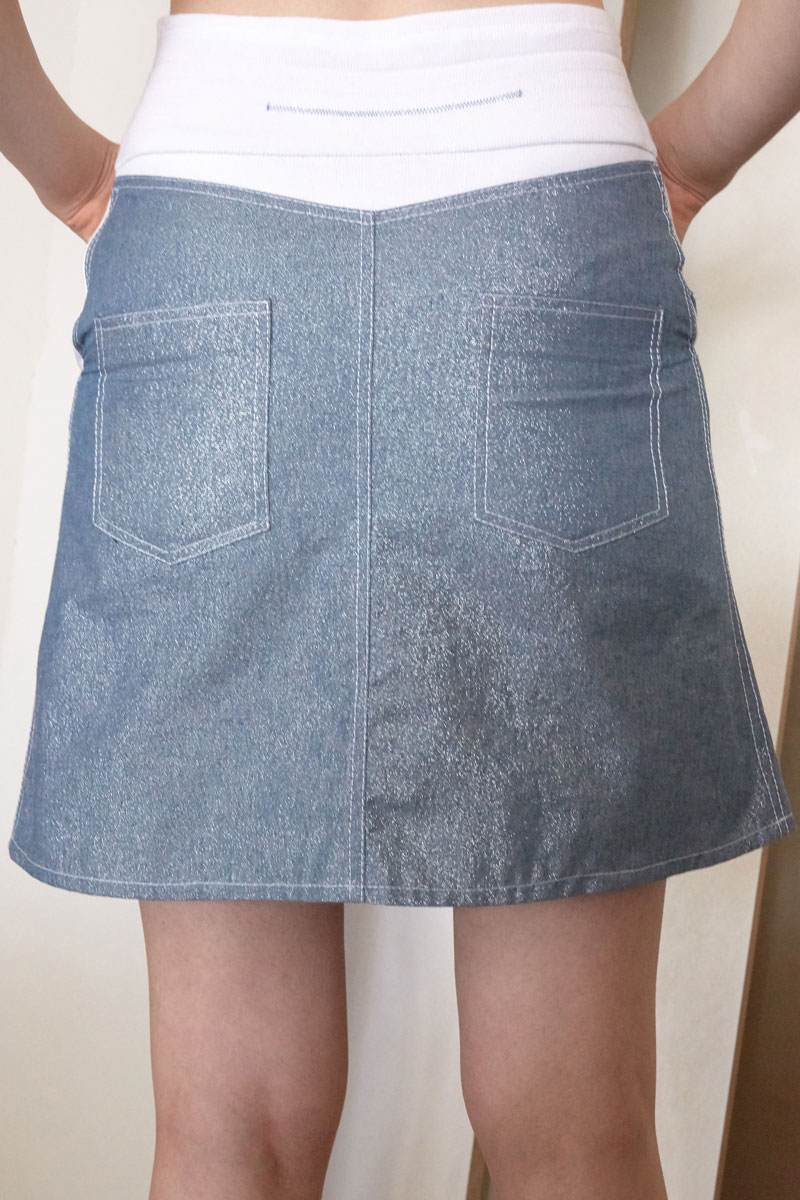 Lyra denim skirt