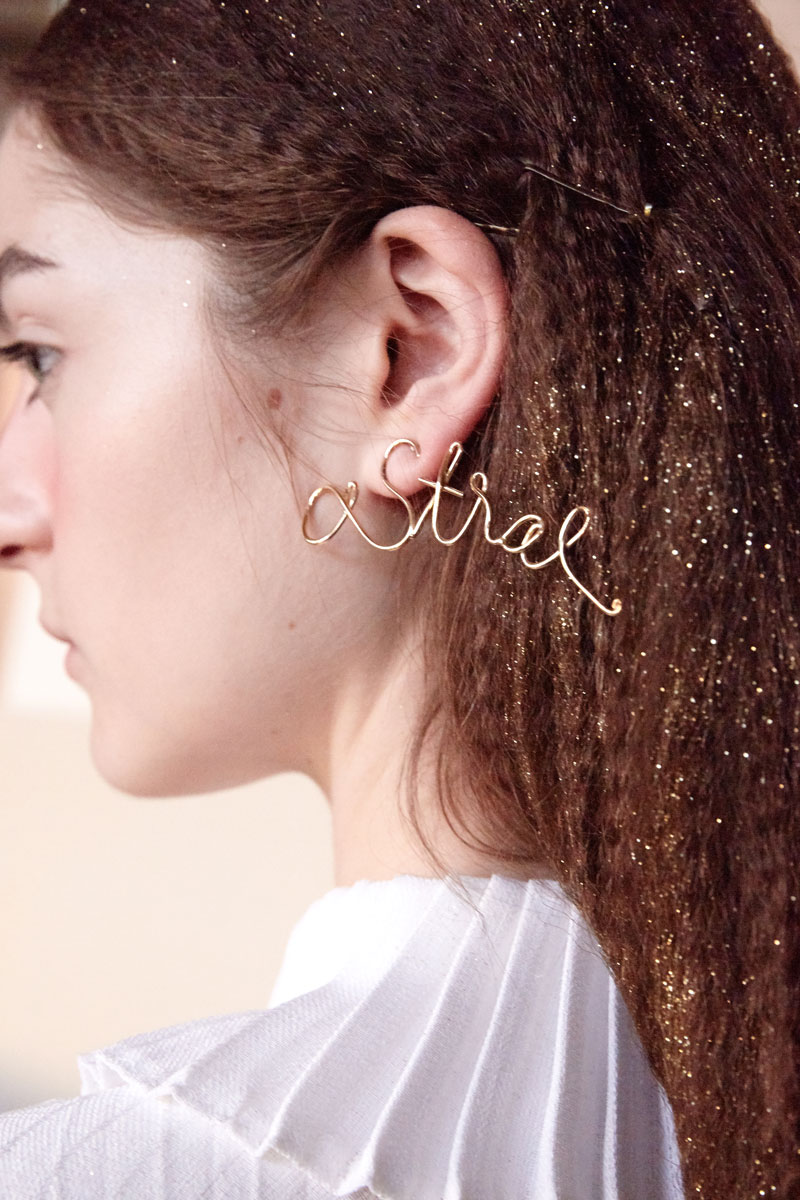 Astral maxi earring