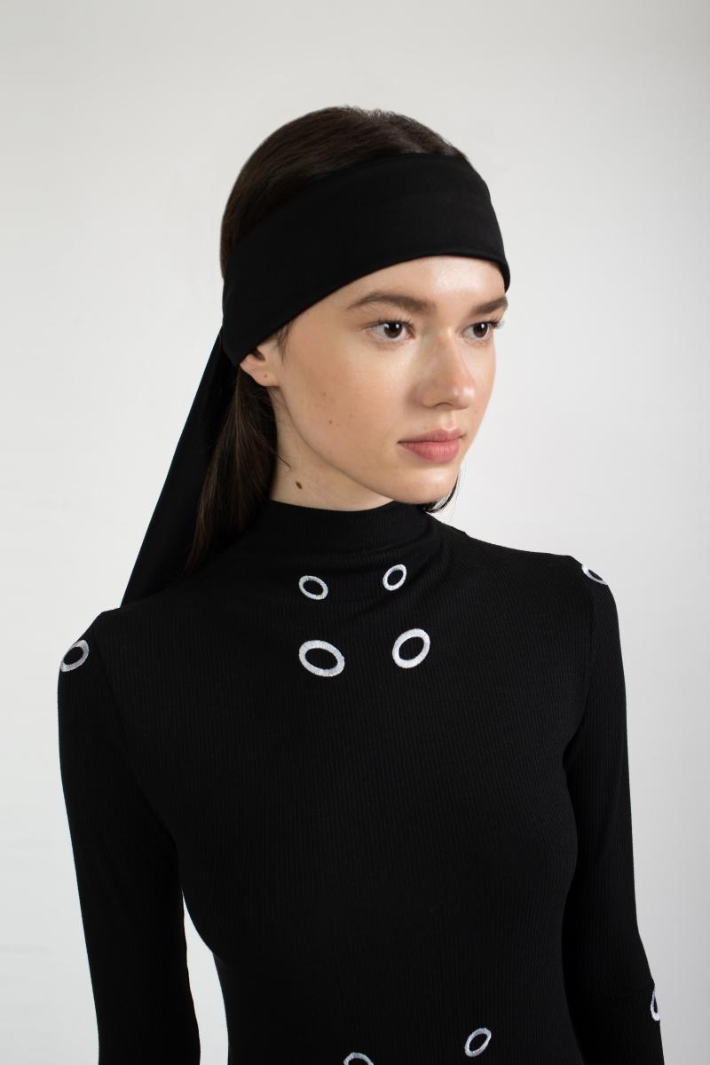 BLACK ASTRAL headscarf